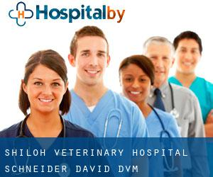 Shiloh Veterinary Hospital: Schneider David DVM Weigelstown